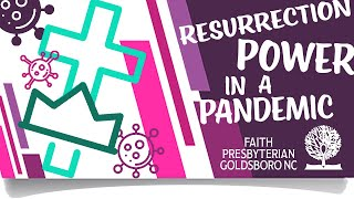 Rev  Antonio M  K  Lawrence   RESURRECTION POWER IN A PANDEMIC 4-19-20