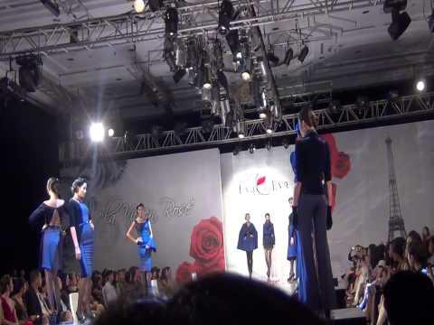 Dàn người mẫu trình diễn Eva de Eva Fashion Show
