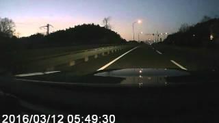 名神高速 瀬田東JCT-京滋バイパス 巨椋IC-京奈和自動車道-奈良登大路自動車駐車場(奈良県営)午前6時到着
