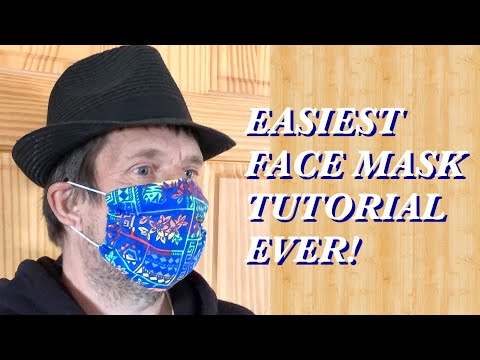 EASIEST FACE MASK TUTORIAL EVER from YouTube · Duration:  11 minutes 5 seconds
