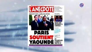 LA REVUE DES GRANDES UNES DU LUNDI 02 JUILLET 2018 EQUINOXE TV