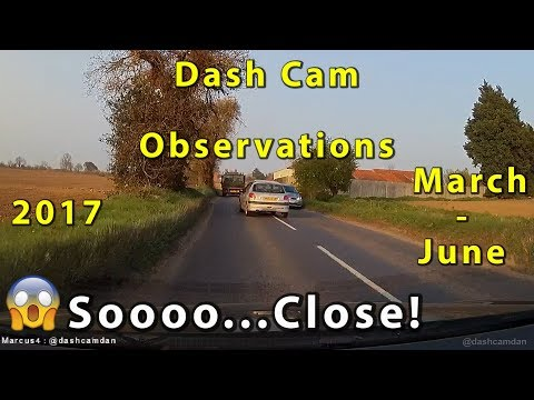 Dash Cam Observations  - March - June 2017 - Norfolk UK.
