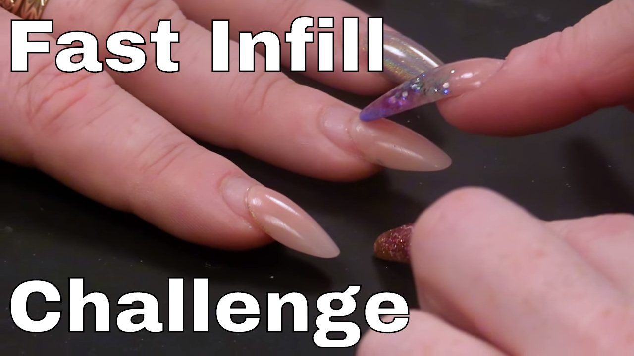 Kirsty\'s #fastinfillchallenge with Naio Nails - YouTube