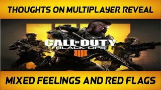 Black Ops 4 Multiplayer Reveal Thoughts And Speculation