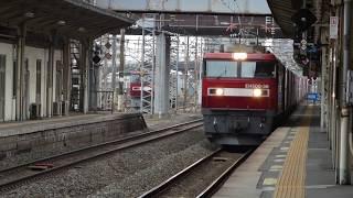 JR貨物 EH500-36貨物列車 金太郎 郡山駅