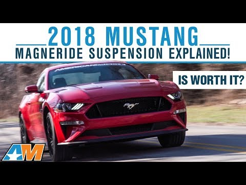 2018 Ford Mustang GT MagneRide Suspension Explained - How Adaptive Suspension Works