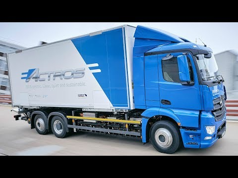 2018 Mercedes eActros - All-electric Truck for the Heavy-Duty Distribution