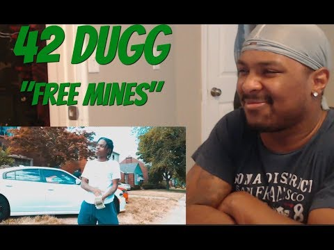 42 Dugg - Free Mines (Official Music Video) REACTION