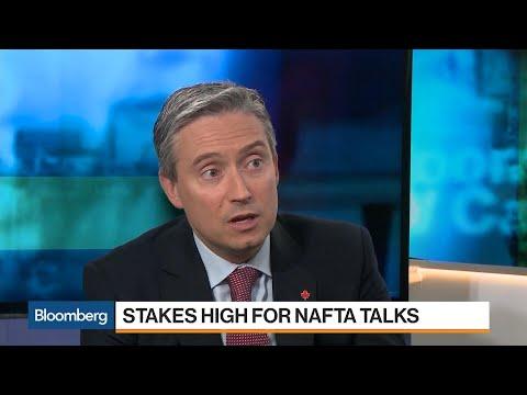Canada Trade Minister Confident Going Into Nafta Talks