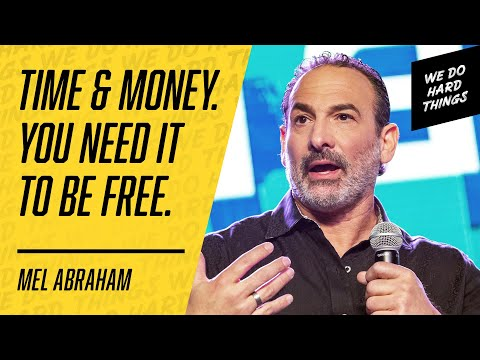This Millionaire Teaches the Path to Profit, Fans & Freedom! Mel Abraham | We Do Hard Things Podcast