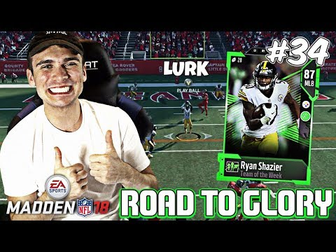 WEEKEND LEAGUE PACKS AND TWO GAMES! rtg ep. 34 Madden 18 Ultimate Team Road To Glory