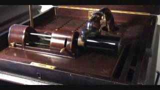 """Let Me Call You Sweetheart"" LAKESIDE Indestructible Cylinder On 1910 Edison Amberola 1A Phonograph"