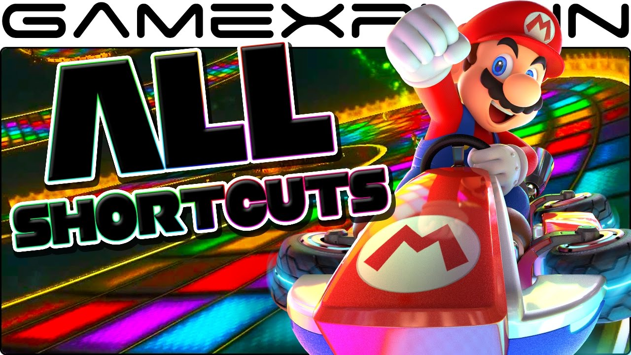 Mario Kart 8 Deluxe All Shortcuts Corner Cuts Tip Guide Youtube