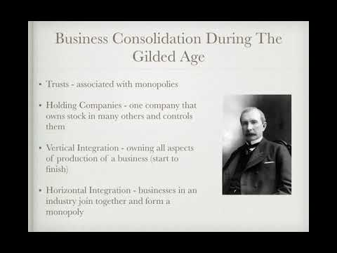 APUSH Review: The Gilded Age