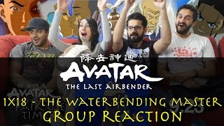 Avatar: The Last Airbender - 1x18 The Waterbending Master - Group Reaction