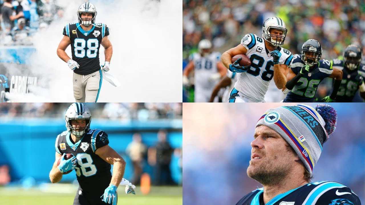 Greg Olsen | Panthers Highlights ᴴᴰ ...