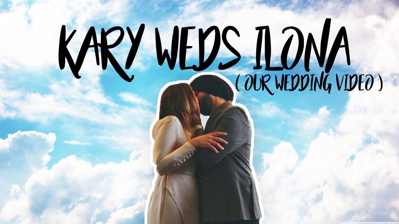 KARY WEDS ILONA | FRENCH-INDIAN WEDDING VIDEO  🤍