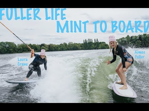 Aimee's Fuller Life | Episode 14 | SURFING In LONDON????? MINT TO BOARD