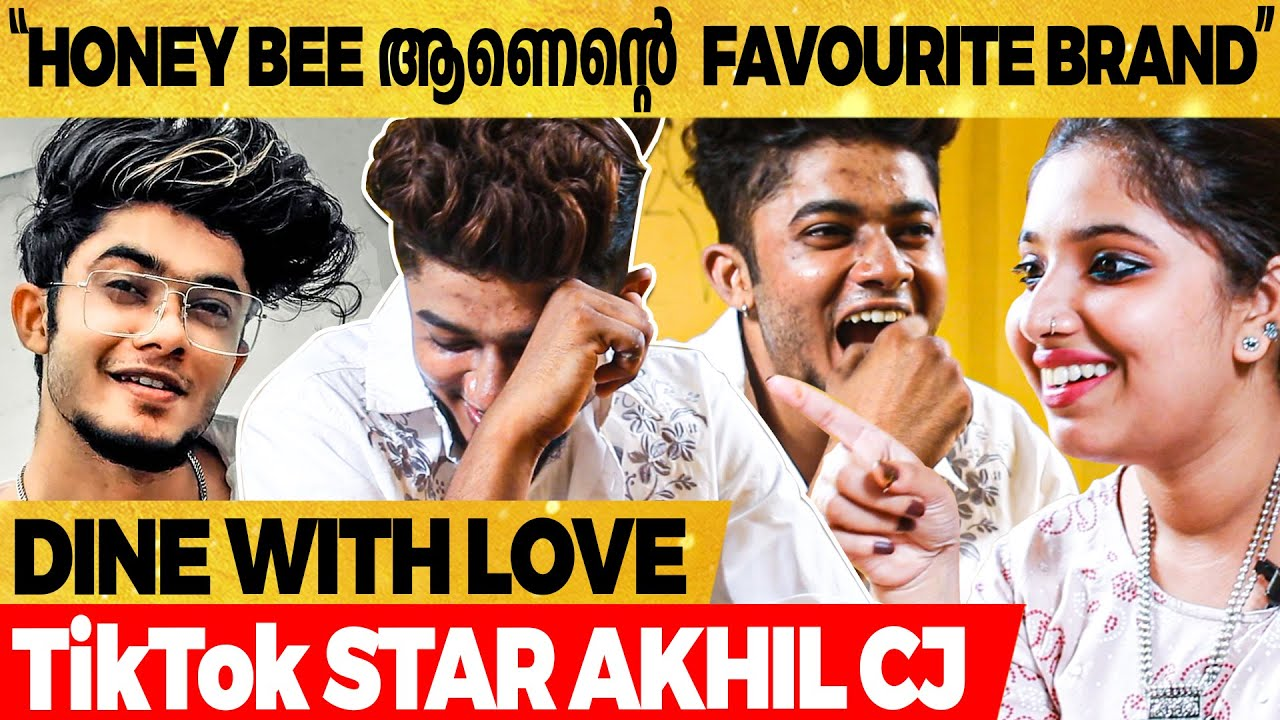 "Download ""2 Peg🍻 അടിച്ചാൽ കൂടുതൽ Company ആകും..""🤣 | TikTok Star Akhil CJ | Dine With Love"