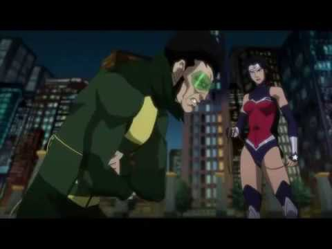 Лига справедливости против юных титанов мультфильм 2 2016
