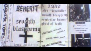 Beherit - Seventh Blasphemy [Demo 1990]