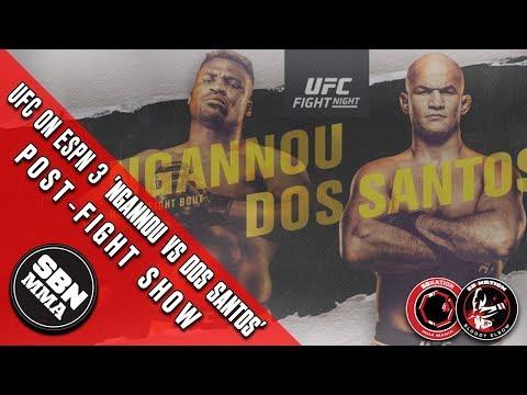 ufc-on-espn-3-francis-'the-predator'-ngannou-vs-junior-'cigano'-dos-santos-post-fight-show