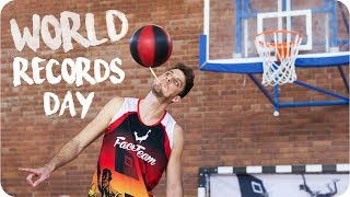 NINE WORLD RECORDS a day I Face Team