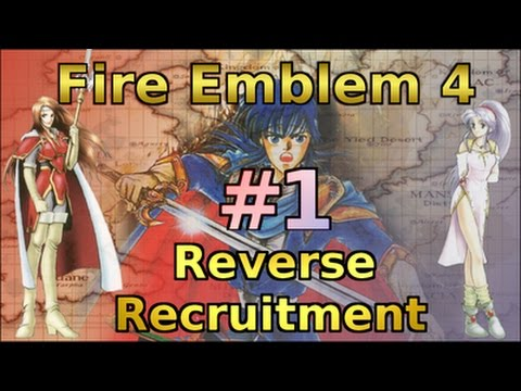 Let's Play FE4 Reverse Recruitment - Part 1 (Prologue)