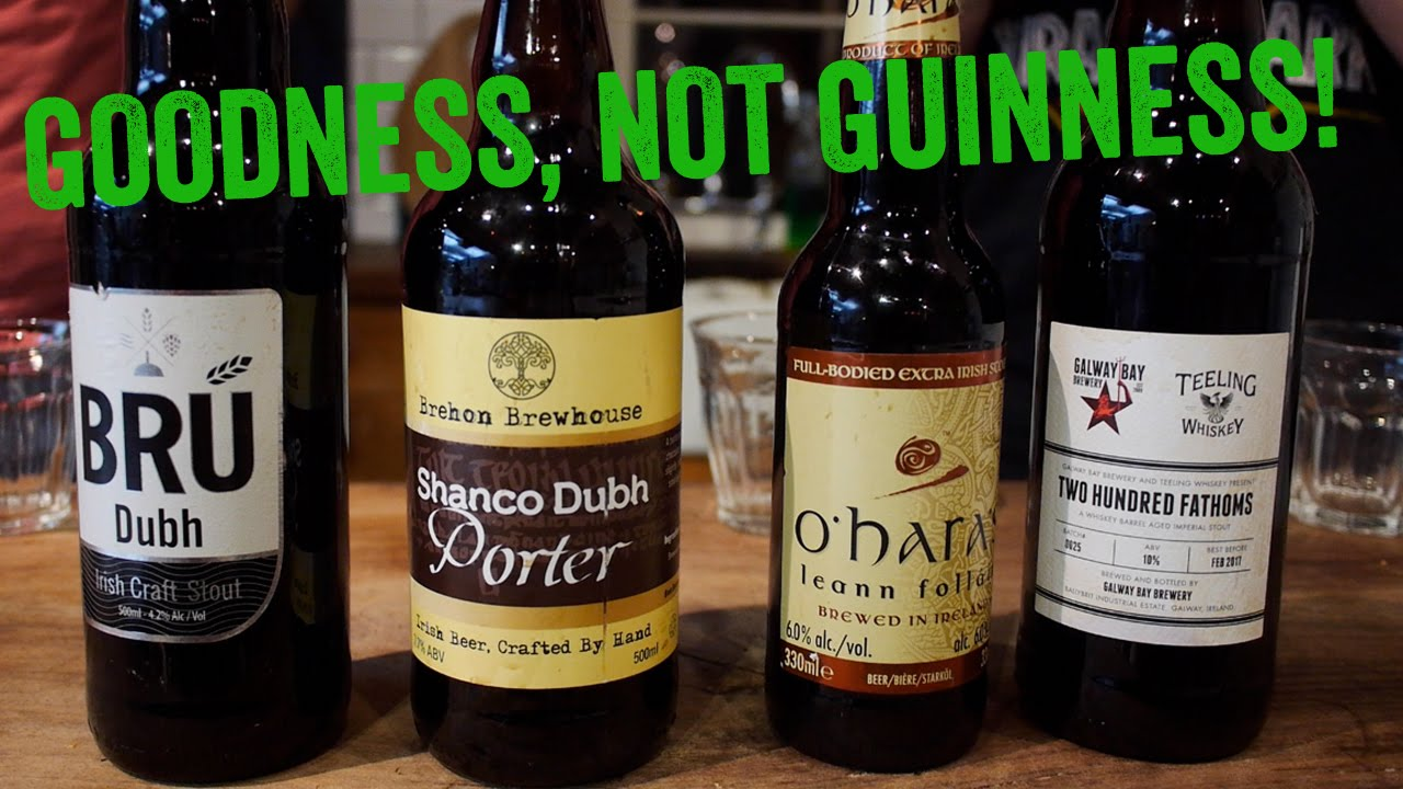 4 irish stouts that aren 39 t guinness the craft beer for Guinness beer in ireland