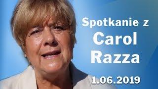 """Carol Razza """"Przejdź przez trudności z Bożą Łaską"""" cz. 1 [1.06.2019]"""