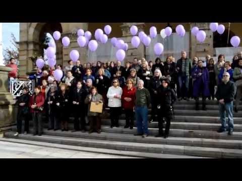 Concentración Villaviciosa por  mujeres y menores fallecidos víctimas de violencia de género  14