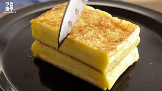 フレンチトースト|쿠킹하루 Cooking Haruさんのレシピ書き起こし