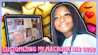 Aesthetic MacBook Organization + Customization tips/tricks 💻 !!! *MUST WATCH!!* || Naturally Andrea