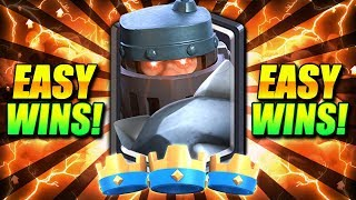 EASY WINS!! PRO MEGA KNIGHT DECK DOESN'T LOSE!! - Clash Royale