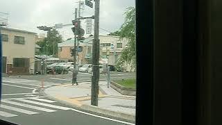 路線バス車窓 2013年7月の栃木県庁周辺