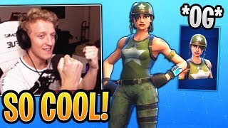 Tfue Loves His New *OG* Munitions Expert Skin He got Gifted! - Fortnite Best and Funny Moments