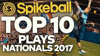 Top 10 Plays - Spikeball Nationals 2017