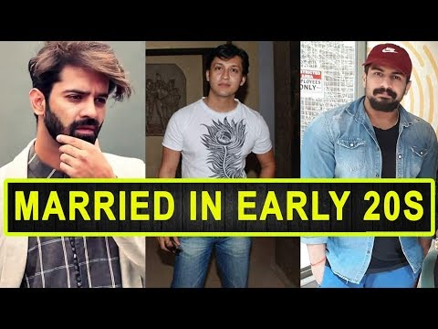 Top 10 Handsome Television Actors Who Got Married In Their Early 20s