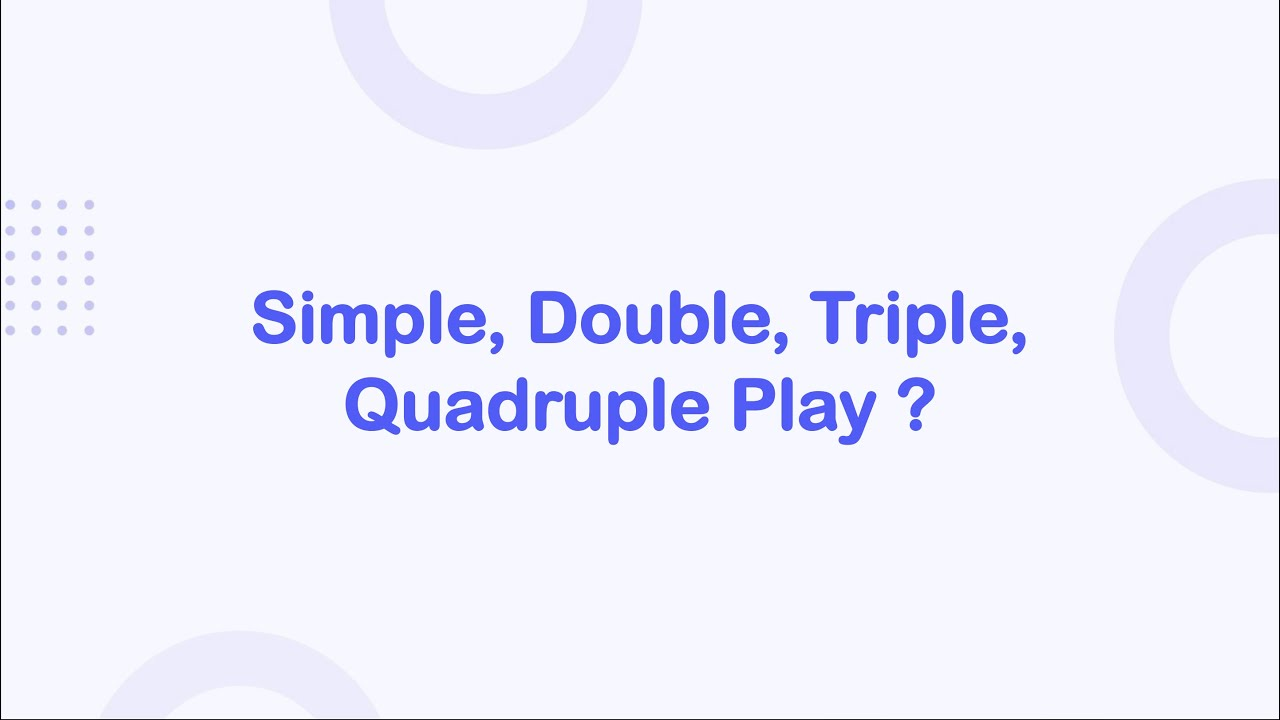 offres simple double triple quadruple play