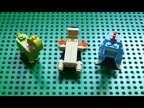 Lego Pokemon Instructions Part 6 Meganium Typhlosion And