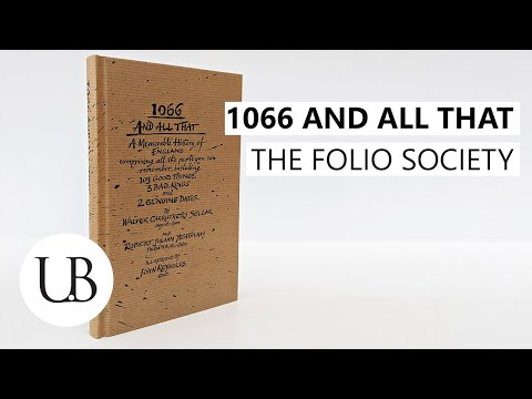 """""""1066-and-all-that""""-by-w.-c.-sellar-and-r.-j.-yeatman-(folio-society,-1990)-book-review"""