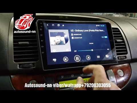 "Штатная Магнитола ZH IPS 2.5D Toyota Camry V30 9""(8 ядер 4/64)android 8.1"