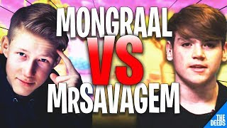 Secret Mongraal 1 VS 1 NRG MrsavageM In Solo Vs Squad Match | Fortnite Highlights
