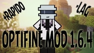 COMO INSTALAR OPTIFINE MOD MINECRAFT 1.6.4 (TUTORIAL EN ESPAÑOL)