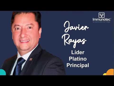 Javier Rayas (Platino Principal) Descubre Immunotec México Martes 29 de Septiembre 2020