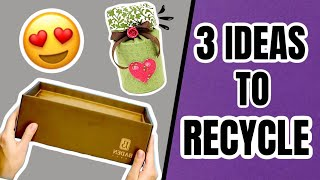 DIY - 3 Ideas to Recycle