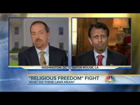 Jindal: 'There Used To Be Bipartisan Consensus in This Country' Supporting Religious Liberty