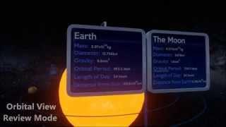 Solar System 3D Prototype - Dissertation Project