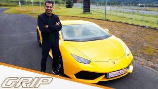 Hamid sucht Sportwagen für 160.000,- Euro I GRIP