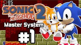 ¡el sonic clásico más difícil sonic the hedgehog 2 master system parte 1 español